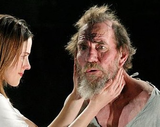 "theme of opposites within king lear Out of a proper economy of material, then, a maximum of madness is made, and everyone who has read king lear has sensed that the heath scenes are composed of complex variations upon the theme of madness—a noble man going mad, accompanied by a character professionally not ""normal,"" meeting a character whose life depends."