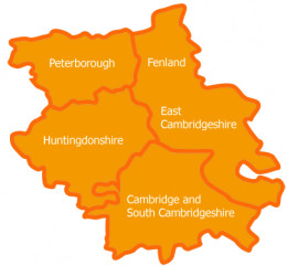 Map of Fenland
