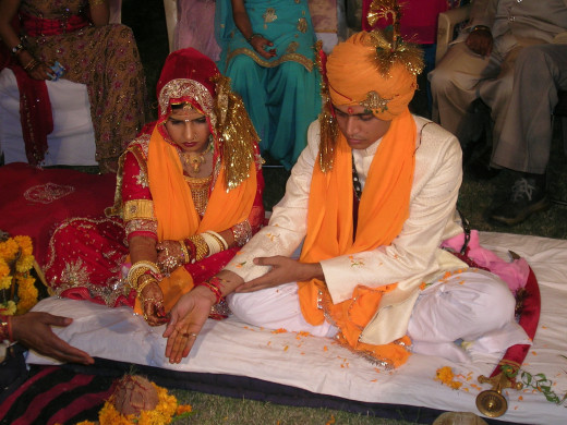 A Hindu Marriage Ceremony