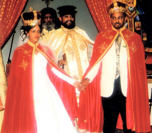 Traditional Ethiopian Orthodox Catholic Ceremony