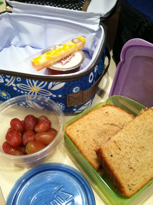Children can learn to pack healthy lunches if given proper instruction and guidelines.