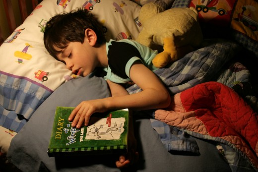 Good sleep habits are best established at a young age.