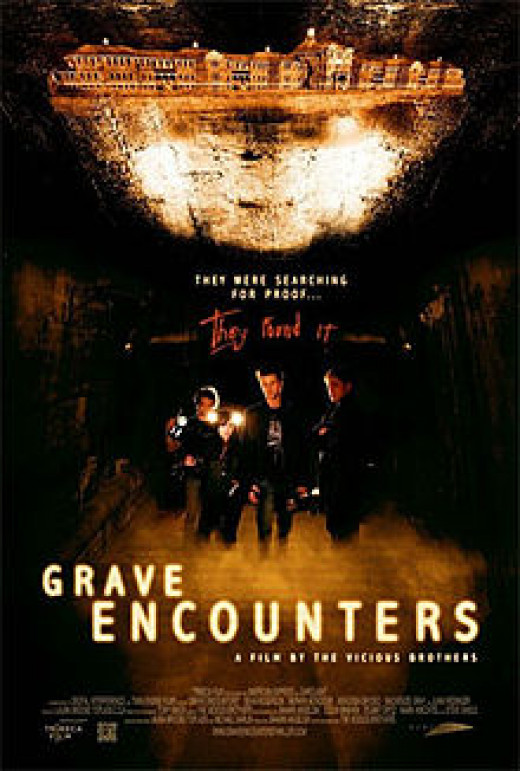 Promo poster for Grave Encounters