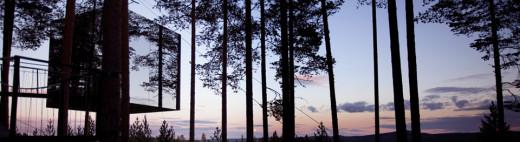 Treehouse hotel in Sweden