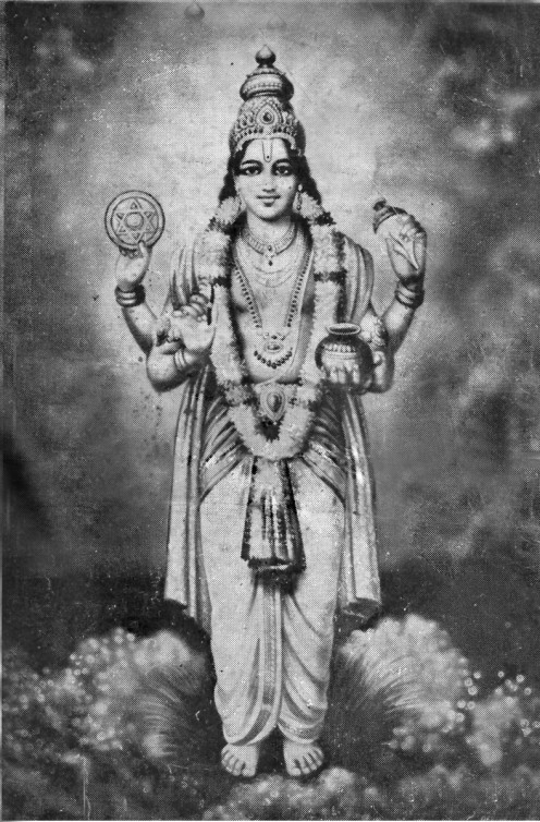 Dhanvantri, The God Of Medicine
