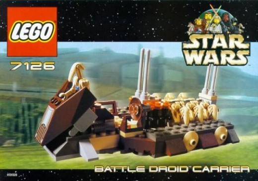 Lego Star Wars Battle Droid Carrier 7126 Box