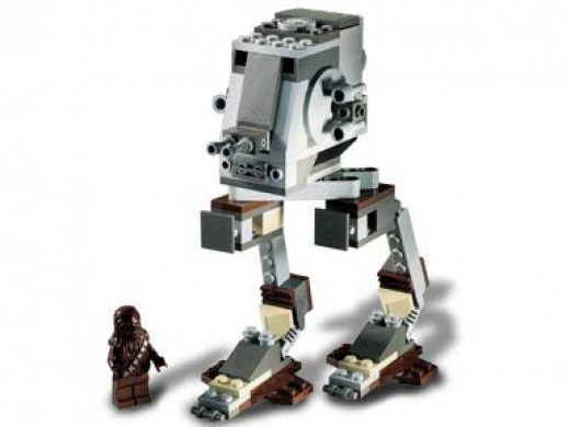 Lego Star Wars Imperial AT-ST 7127 Assembled