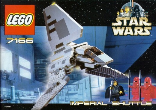 Lego Star Wars Imperial Shuttle 7166 Box