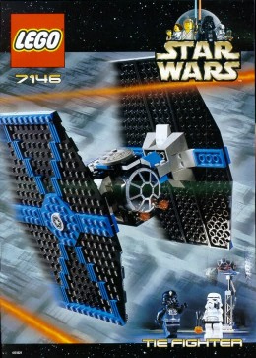 Lego Star Wars  TIE Fighter 7146 Box