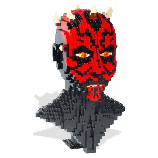 Lego Star Wars Darth Maul 10018 Assembled