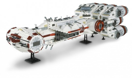 Rebel Star Wars Blockade Runner 10019 Assembled