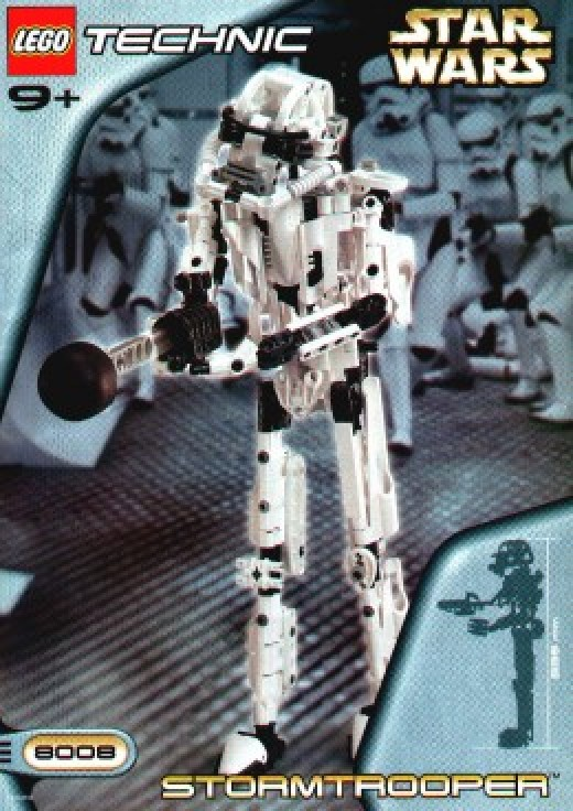 Lego Star Wars Technic Stormtrooper 8008 Box