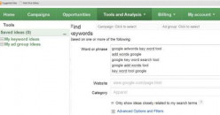 Using Google Tools for Keyword Research