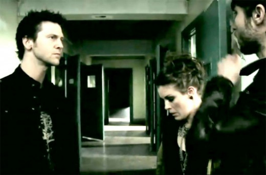 Screen shot from the movie Grave Encounters