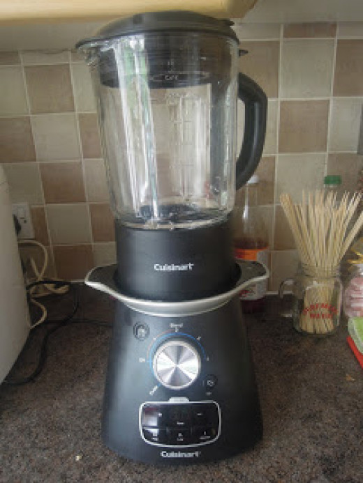 My new Cuisinart Soup Maker