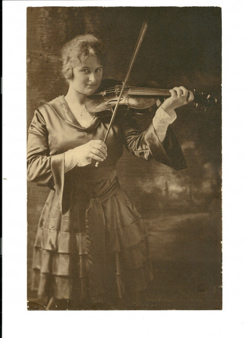 My Mother with her Violin