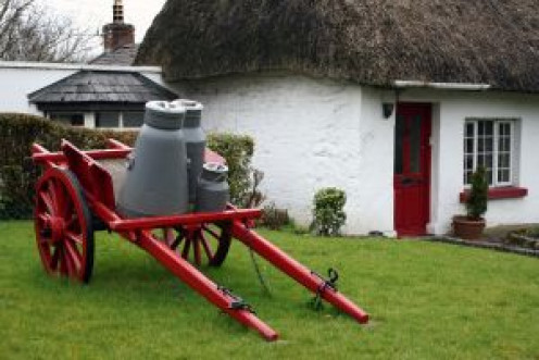 An Irish milk wagon.