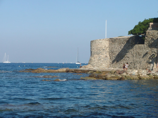 Fort in the center of Saint Tropez