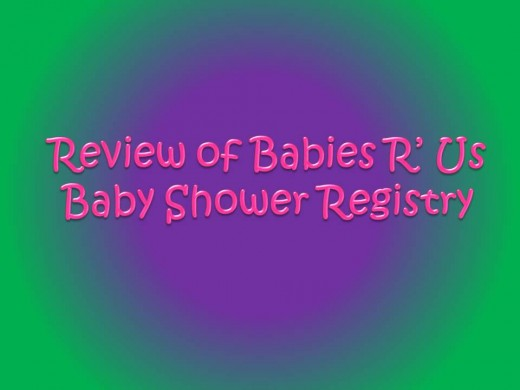 A review of the Babies R' Us baby gift registry
