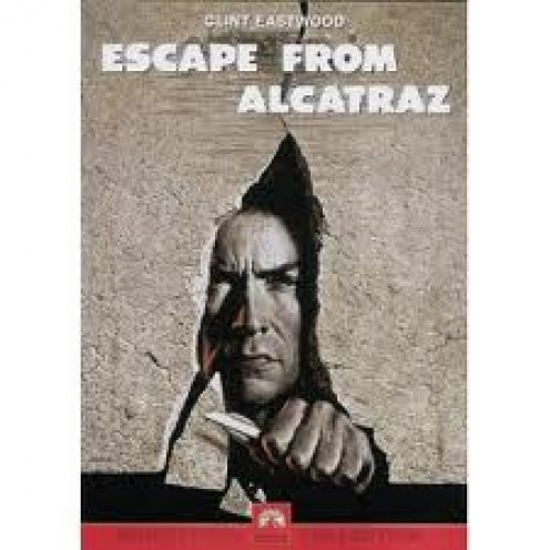 Escape From Alcatraz  featuring Clint Eastwood was based on a true story about a man who actually escaped from Alcatraz Prison. This is a great movie and Clint Eastwood played a great role in this movie.