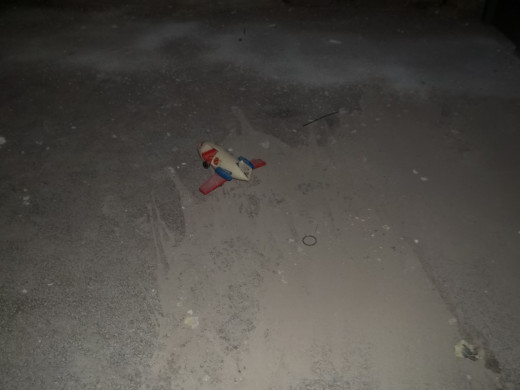 A toy left behind after Pennhurst closed it's doors in 1987.