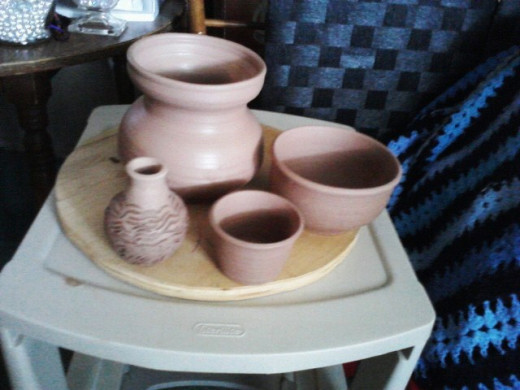 pottery by hands of life
