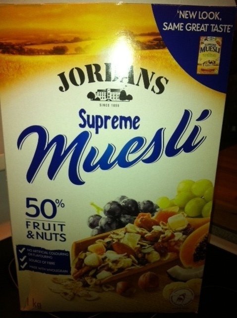 Use your favorite granola or Muesli