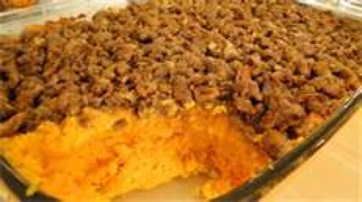 Sweet Potatoe Casserole