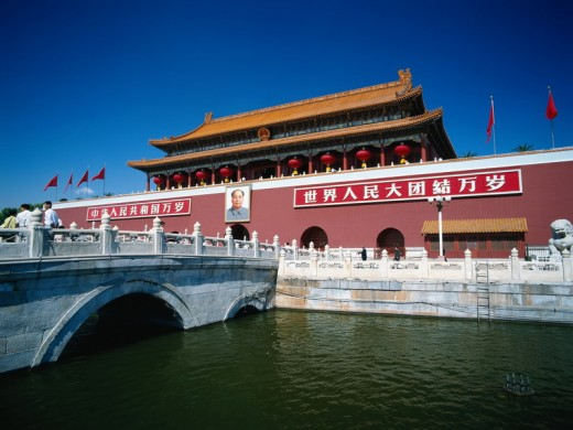 Gate of Heavenly Peace at Tiananmen Square