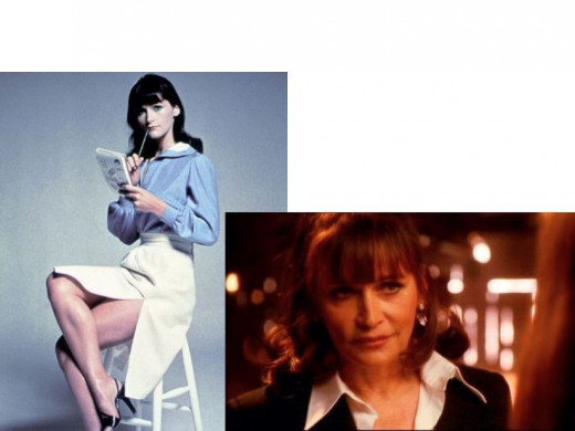 Margot Kidder as Lois Land and Dr. Bridgette Crosby