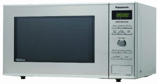 The Panasonic NN-SD372S 0.8 Cubic Feet 950-Watt Inverter Microwave offers many features not usually found in small microwave ovens.