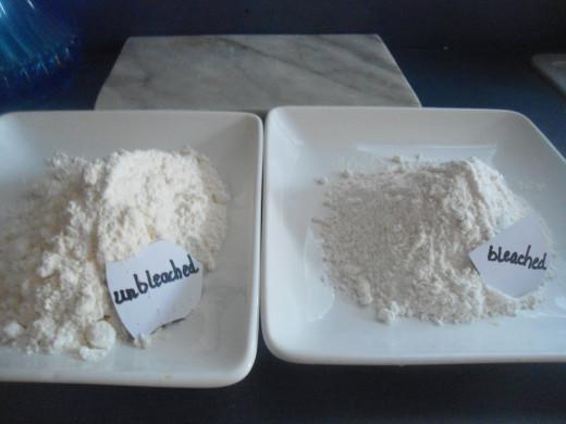 unbleached flour vs bleached