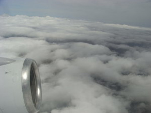 You need an IFR Rating to fly in these clouds