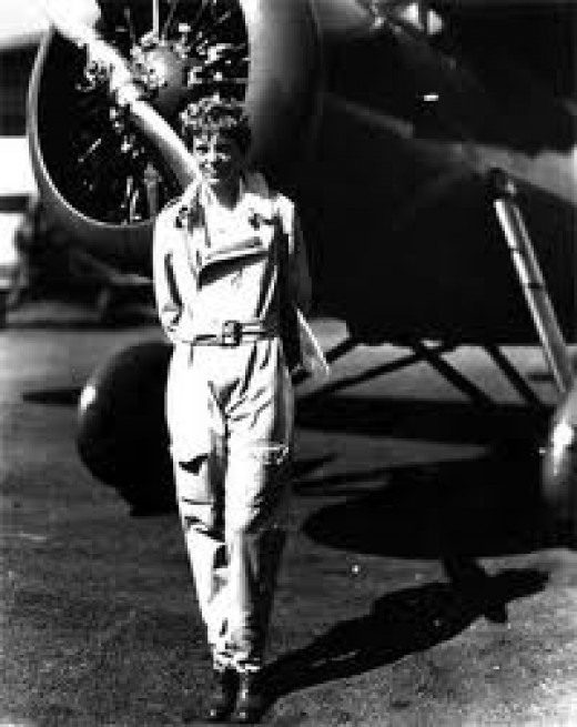 Amerilia Earhart I was not