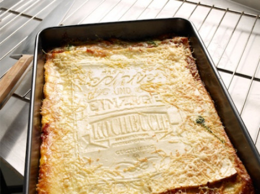 Lasagna cookbook ready to eat