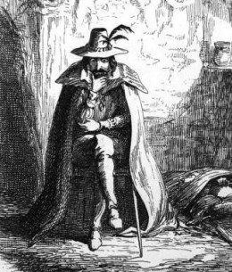 Who was Guy Fawkes? Image part of the public domain.