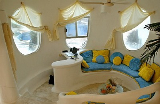 Conch Shell House interior (Living room)