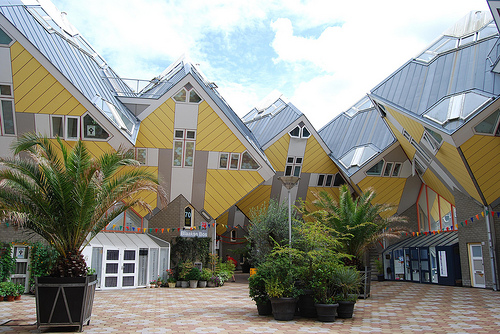 Rotterdam's Cube Houses (outdoors)