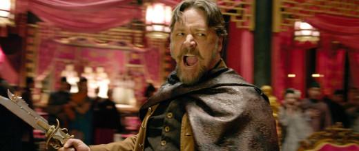Jack Knife (Russel Crowe) emotes.