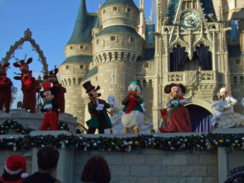 Dream along with Mickey is one of the highlights of the Magic Kingdom