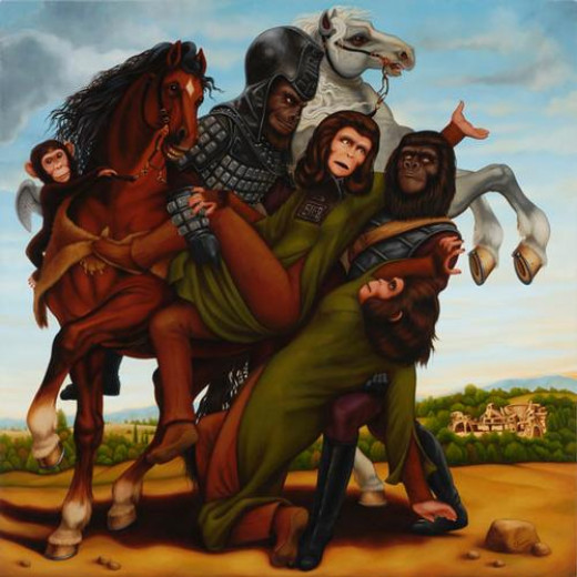 Abduction of the Simian Woman