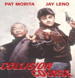 Collision Course (1989) - Jay Leno and Pat Morita, cars, chases, and jokes