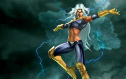 Storm Black and Yellow Costume