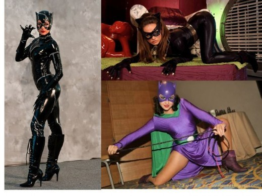 Cosplay Catwoman Costumes