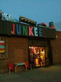 """Junkee"" an Untraditional place to shop"