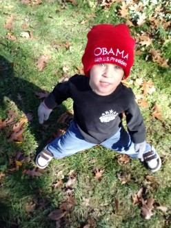 Obama Hat !!! Forward For Four More Years