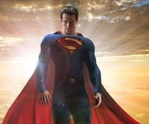 Henry Cavill as the new Superman