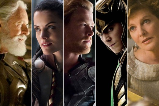 The cast and characters of Thor 2