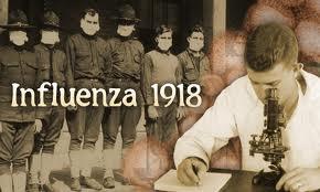 The Influenza outbreak of 1918 killed 50 million people worldwide