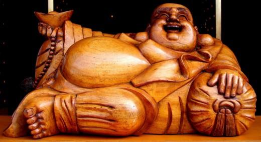 Hotei reclining